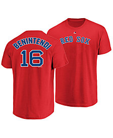 Majestic Men's Andrew Benintendi Boston Red Sox Official Player T-Shirt