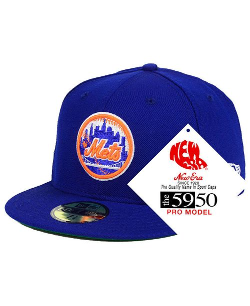 5a7cab6cf1d New Era New York Mets Retro Stock 59FIFTY FITTED Cap   Reviews ...