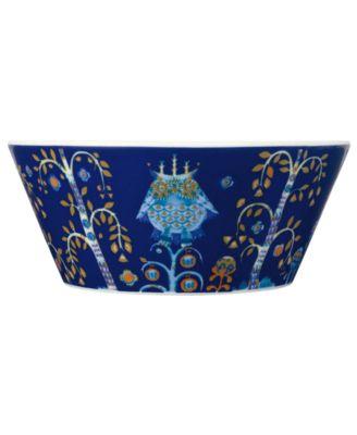 Dinnerware, Taika Blue Cereal Bowl