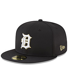 New Era Detroit Tigers Prolite Gold Out 59FIFTY FITTED Cap