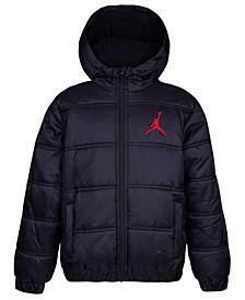 Toddler Boys Heritage Hooded Puffer Jacket