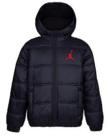 Jordan Toddler Boys Heritage Hooded Puffer Jacket