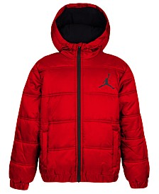 Jordan Toddler Boys Heritage Hooded Puffer Jacket