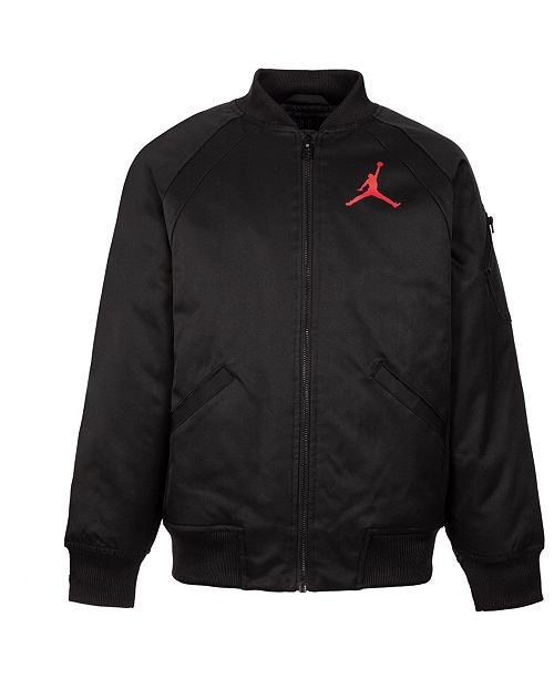 b0060c747116 Jordan Big Boys Jumpman Logo Jacket   Reviews - Coats   Jackets ...