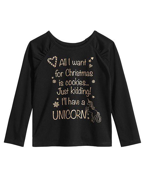 3187ec2ba Epic Threads Little Girls Christmas Shirt, Created for Macy's. Macy's / Kids  / Shirts ...