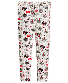 Epic Threads Toddler Girls Cat-Print Leggings, Created for Macy's