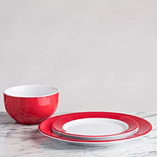 Q Squared Bistro Red Melamine Collection