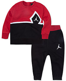 Jordan Toddler Boys 2-Pc. Diamond Jumpman Sweatsuit