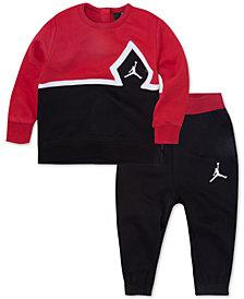 Jordan Toddler Boys 2-Pc. Diamond Jumpman Sweatsuit