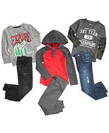 Epic Threads Little Boys Shirts, Hoodie & Pants Separates, Created for Macy's