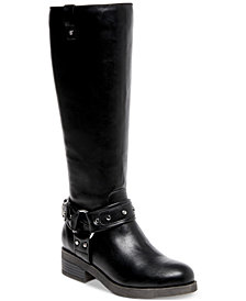 Madden Girl Mckenzie Wide-Calf Riding Boots