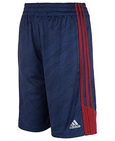 adidas Big Boys Climalite® Dot Moto Camo Shorts