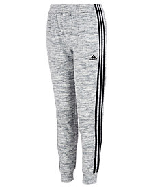 adidas Little Girls Velour Jogger Pants