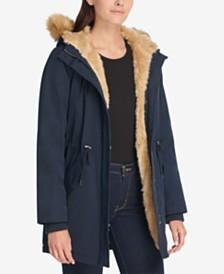 Levi's® Arctic Cloth Faux-Fur-Trim Parka