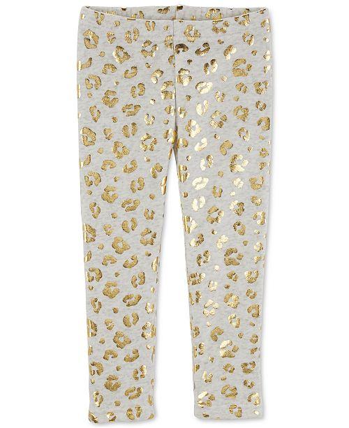 fdc04d386 Carter s Baby Girls Cheetah-Print Leggings - Leggings   Pants - Kids ...