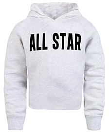 Converse Big Girls Cropped Hoodie