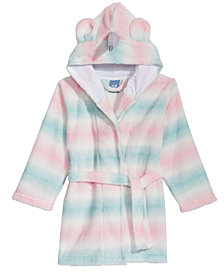 Max & Olivia Big Girls Ombré Unicorn Robe, Created for Macy's