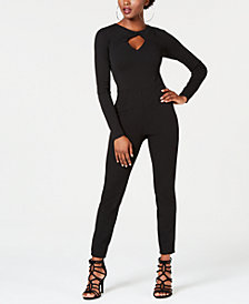 GUESS Twist-Neck Devina Jumpsuit