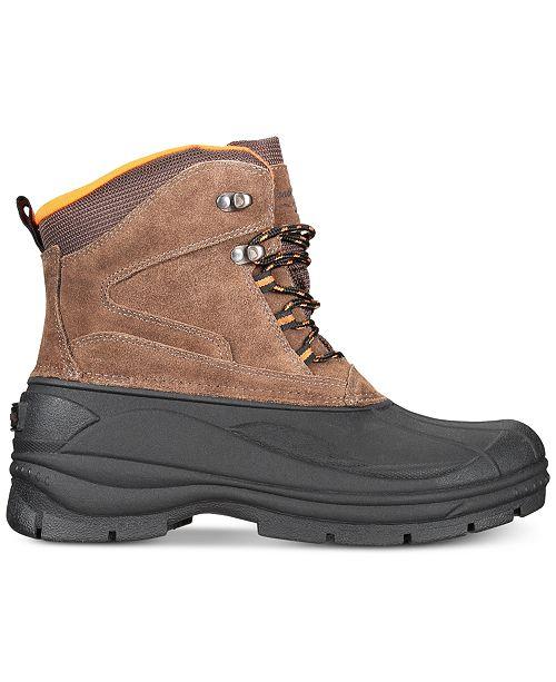 Weatherproof Vintage Men s Jake Waterproof Cold Weather Boots - All ... 3157c1f95e