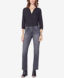 NYDJ Marilyn Uplift Tummy-Control Straight-Leg Jeans