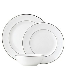 Continental Dining Platinum  3 Piece Place Setting