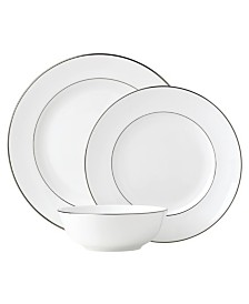 Lenox Continental Dining Platinum  3 Piece Place Setting