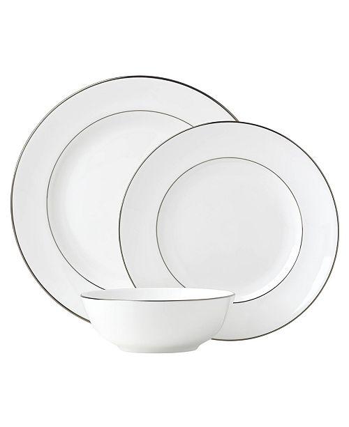 Lenox Continental Dining Platinum  3 Piece Place Setting
