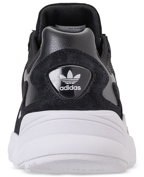 new products 924cd 68839 adidas Women s Originals Falcon Suede Casual Sneakers from Finish ...