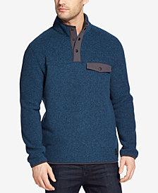 G.H. Bass & Co. Men's Arctic Fleece Mock-Collar Sweater