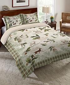 Woodland Forest Queen Comforter