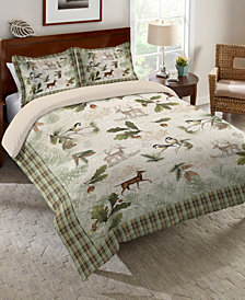 Laural Home Woodland Forest Queen Comforter