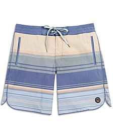 United by Blue Men's Seabed Scallop Boardshorts from Eastern Mountain Sports