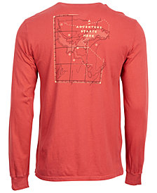 United by Blue Men's Adventure Starts Here Graphic-Print Tee, from Eastern Mountain Sports