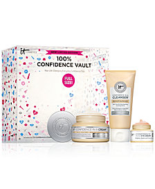 IT Cosmetics 100% Confidence Vault Your Life-Changing Everyday Confidence Trio. A $73 Value!