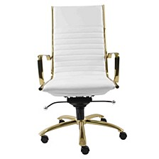 Dirk Leather High Back Office Chair