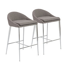 Brielle Counter Stool (Set Of 2), Quick Ship