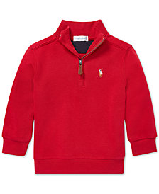 Polo Ralph Lauren Baby Boys Half-Zip Supima® Cotton Pullover