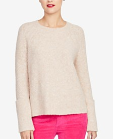 RACHEL Rachel Roy Wide-Cuff Sweater, Created for Macy's