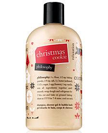philosophy Christmas Cookie Shampoo, Shower Gel & Bubble Bath, 16-oz.
