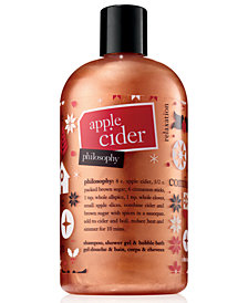philosophy Apple Cider Shampoo, Shower Gel & Bubble Bath, 16-oz.