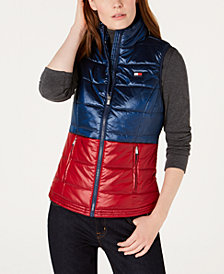 Tommy Hilfiger Sport Shiny Bi-Color Vest