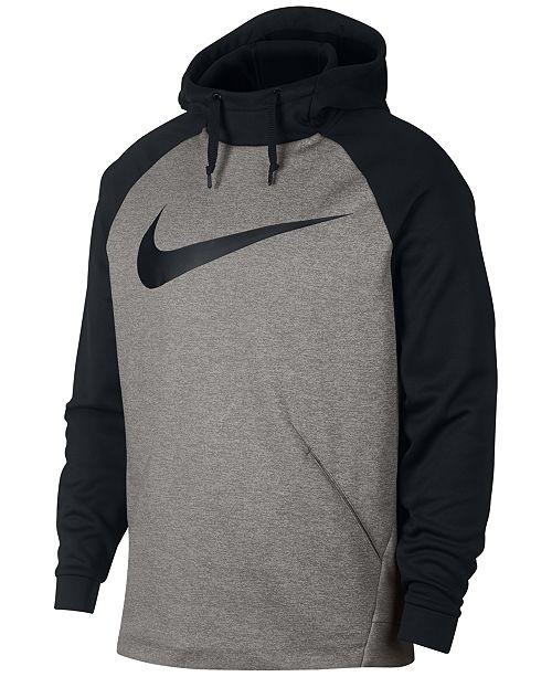 7641ed1b0e14 Nike Men's Therma Colorblocked Training Hoodie & Reviews ...