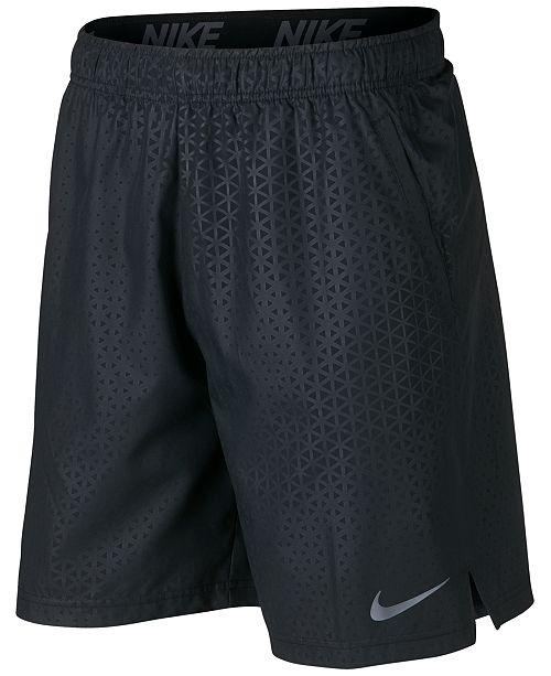 """Nike Men's Flex Embossed 8"""" Training Shorts"""