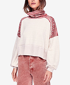 Free People At The Lodge Turtleneck Top