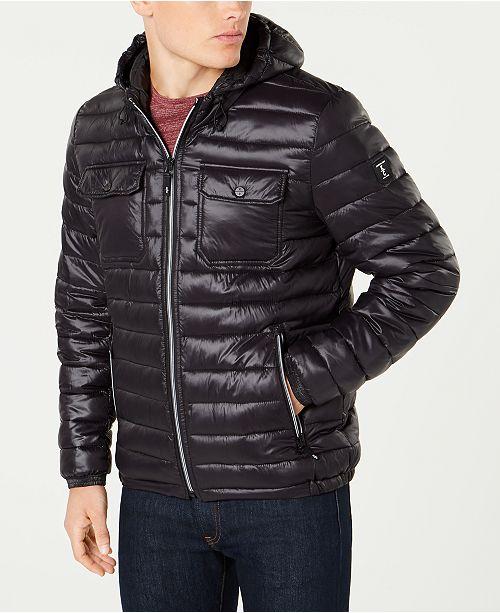 5b8e75824d Kenneth Cole Men's Lightweight Packable Puffer Coat; Kenneth Cole Men's  Lightweight Packable Puffer ...