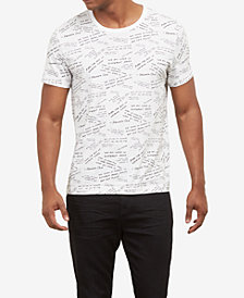 Kenneth Cole  Men's Quote Graphic T-Shirt