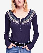 13697805f0 Long Sleeve Henley: Shop Long Sleeve Henley - Macy's