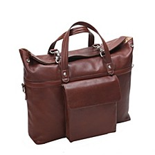 "Edgefield 17"" Roll Top Laptop Briefcase"