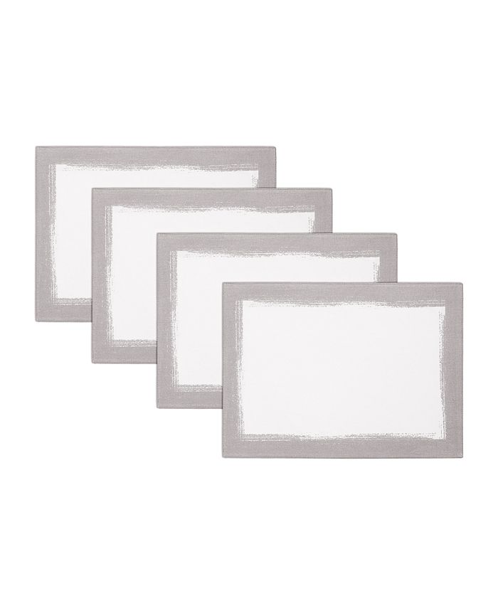 Villeroy & Boch - Metallic Brushstroke Placemat 4 Pc Set