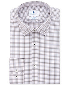 Ryan Seacrest Distinction™ Men's Ultimate Active Slim-Fit Non-Iron Performance Stretch Plaid Dress Shirt, Created for Macy's